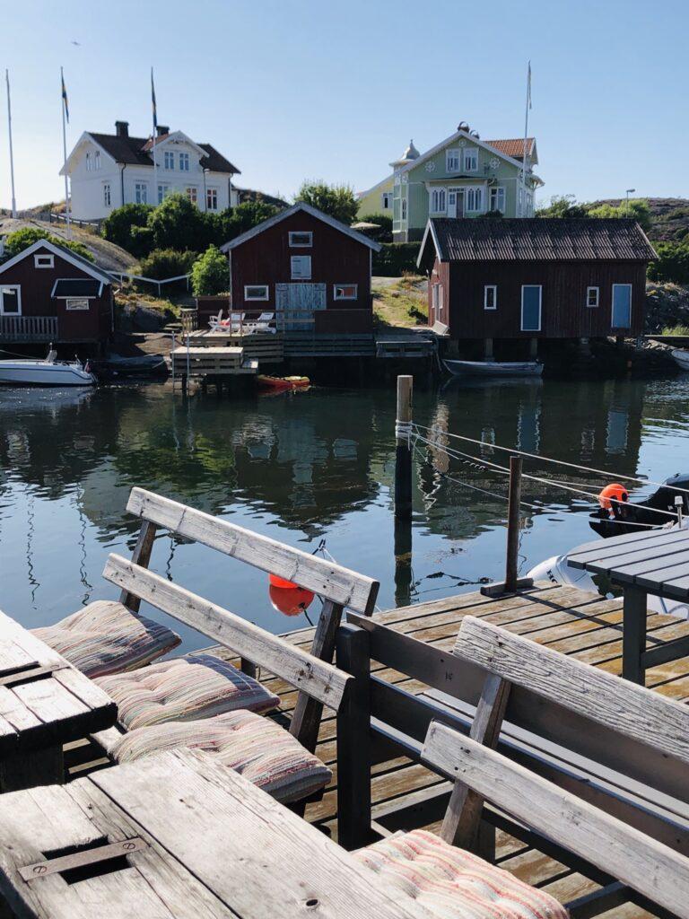 Kawiarnia Mia's Sjöbod, Bohuslän