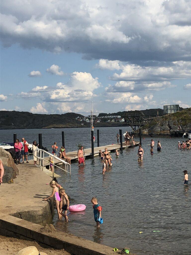 Plaża Kårevik na wyspie Tjörn, Bohuslän