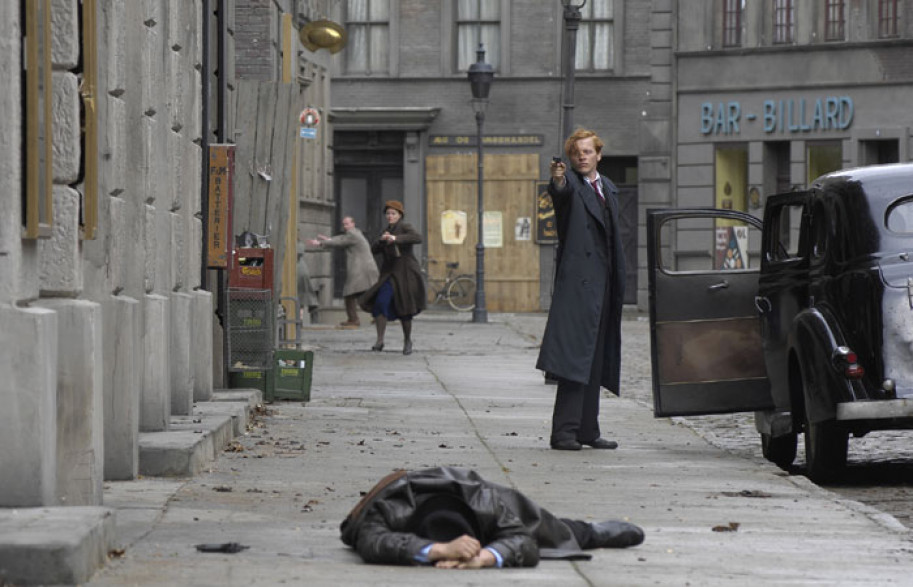 """Kadr z filmu""""Podziemny front"""""""