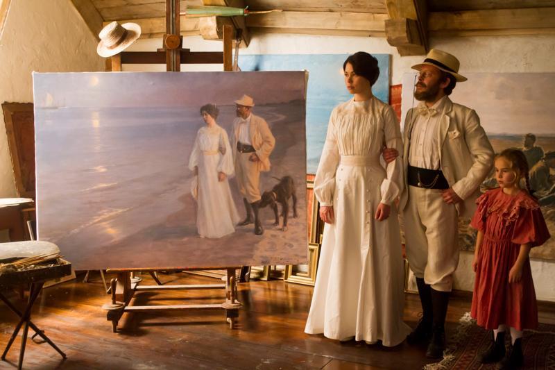 "Kadr z filmu ""Marie Krøyer"""
