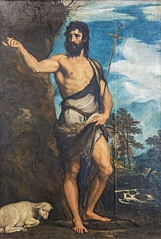 Jan Chrzciciel , obraz Tycjana