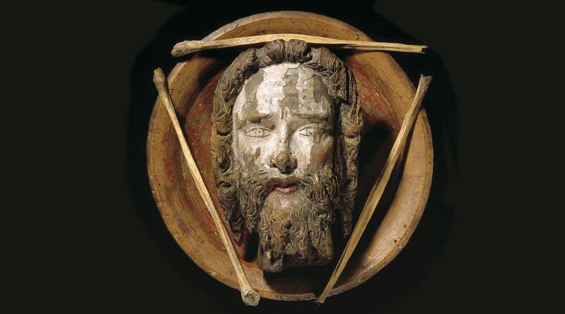 Sankthansaften czyli duńska Sobótka Głowa i kości Jana Chrzciciela