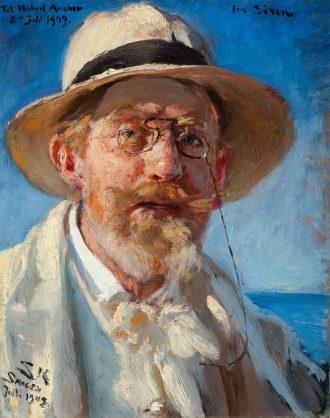 Portret wlasny P.S. Krøyer