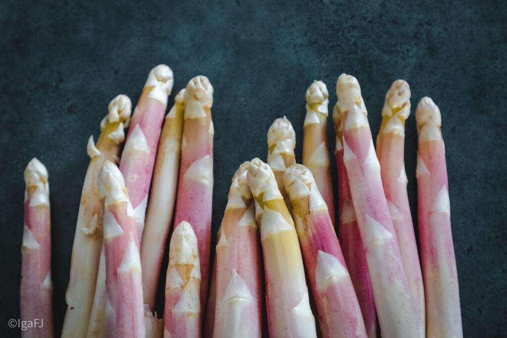Aspargessuppe - zupa krem z białych szparagów