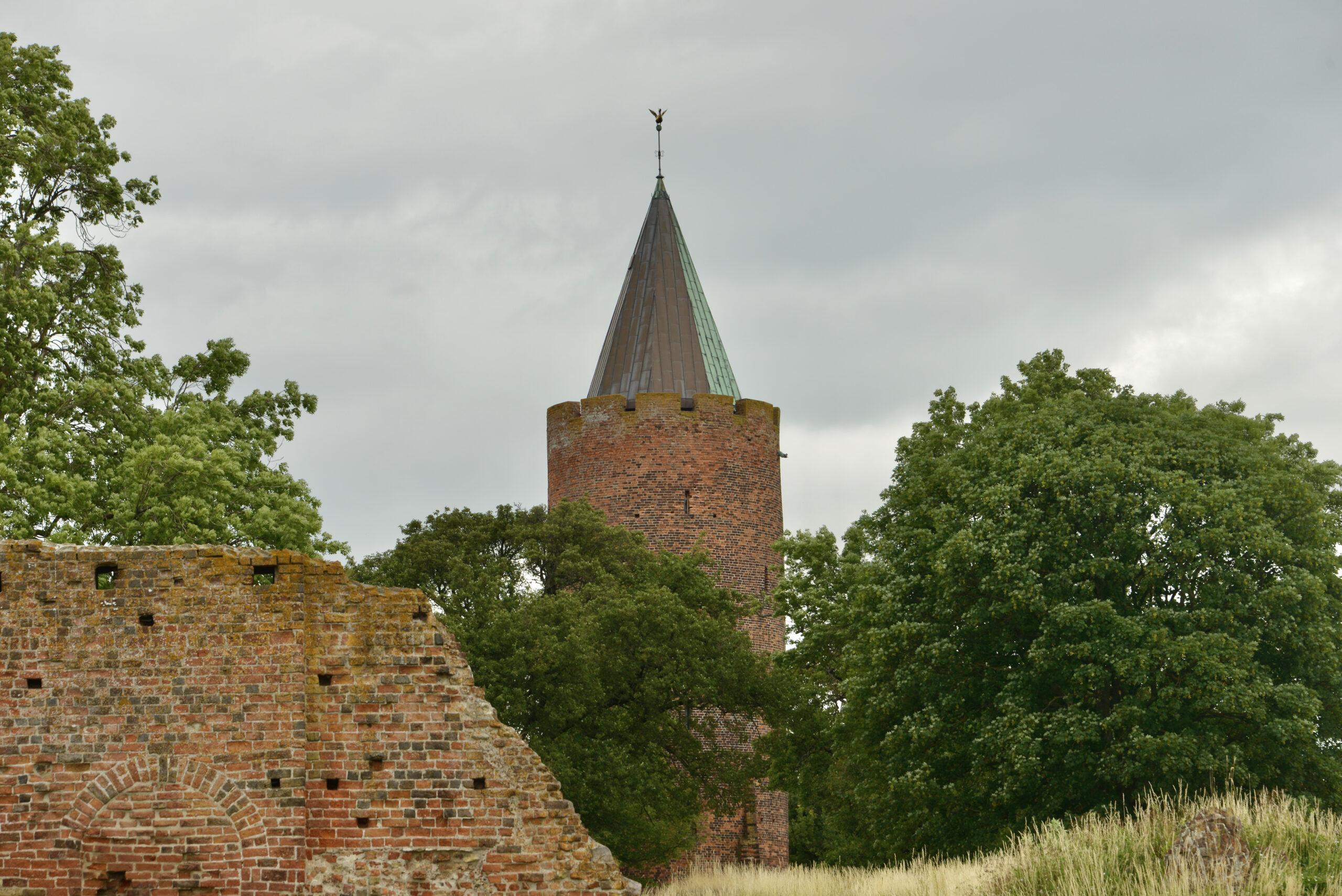 Gęsia Wieża w Vordingborgu czyli Gåsetårnet i Vordingborg- Quiz