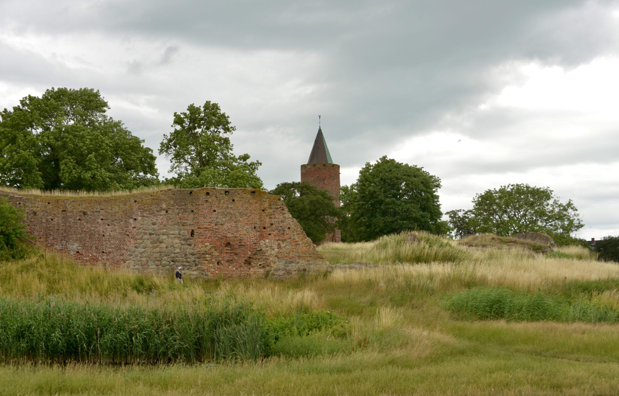 Ruiny zamku w Vvordinborg